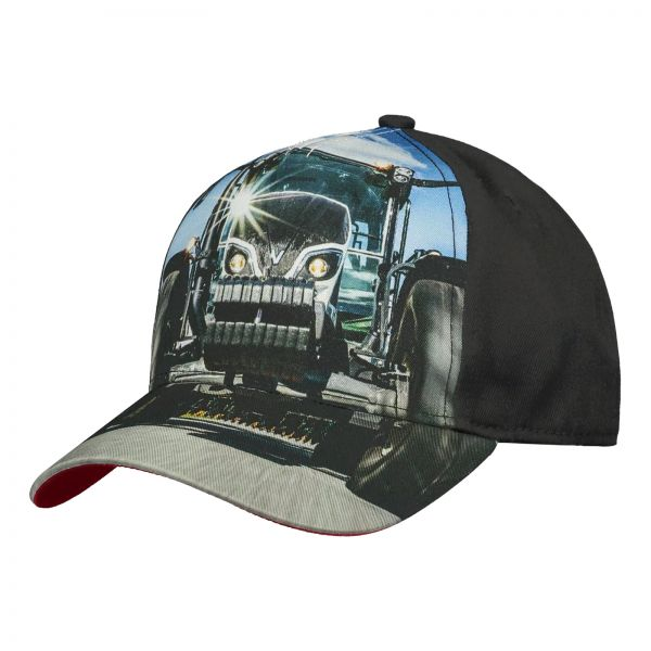 Tractor themed cap for children