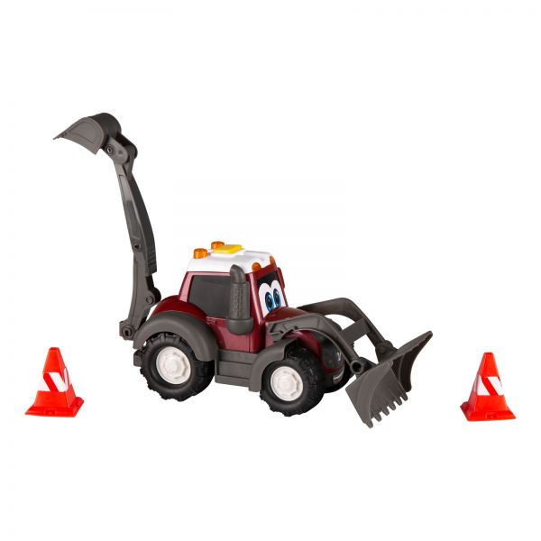 Toy tractor with loader - Happy Valtra