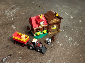 Farm set - Happy Valtra