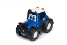 Toddler's toy tractor, blue