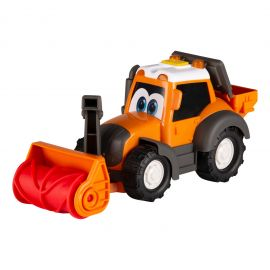 Toy tractor with snow blower - Happy Valtra