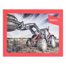 Tractor-themed puzzle