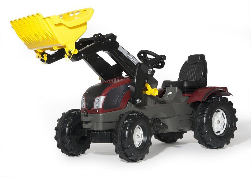 PEDAL TRACTOR T214 WITH FRONTLOADER